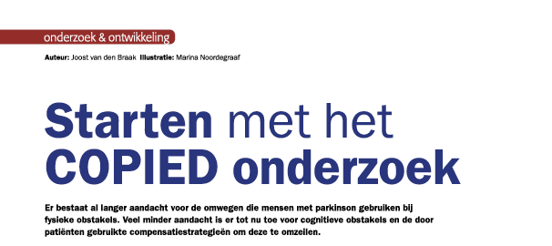 Update 11: Het artikel in Parkinson Magazine